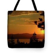 Lake Tahoe Sunset Tote Bag
