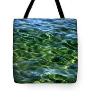 Lake Tahoe Swirls Tote Bag