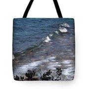 Lake Tahoe Waves Tote Bag