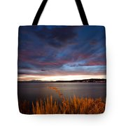 Lake Taupo Sunset Tote Bag
