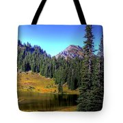 Lake Tipsoo Tote Bag
