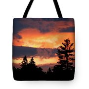 Lake Umbagog National Wildlife Refuge Sunset  Tote Bag