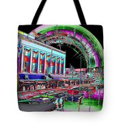 Lake Union Rainbow Tote Bag