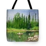 Lake View 1-2 Tote Bag