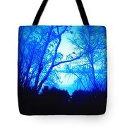 Lake View Cezanne Style Tote Bag