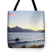Lake Wakatipu At Sunset Tote Bag