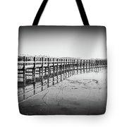 Lake Walkway Tote Bag by Gary Gillette