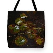 Lake Washington Lily Pad 16 Tote Bag