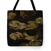 Lake Washington Lily Pad 9 Tote Bag
