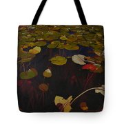 Lake Washington Lilypad 7 Tote Bag
