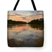 Lake Wedowee Alabama At Sunset Tote Bag