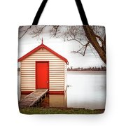 Lake Wendourie Boathouse Tote Bag