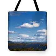 Lake Winnipesaukee New Hampshire In Autumn Tote Bag