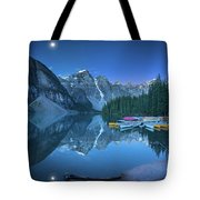 Lake With Moon At Four Am Tote Bag