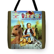 Lakeland Terrier Art Canvas Print - The Wizard Of Oz Movie Poster Tote Bag