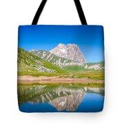 Lakes And Peaks Tote Bag