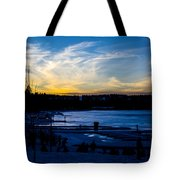 Lakeshore Nights Tote Bag