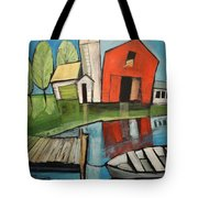 Lakeside Farm Tote Bag
