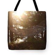 Lakeside Hammock Tote Bag