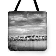 Lakeside Houses Tote Bag