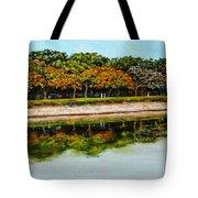 Lakeside Joggers Path Tote Bag