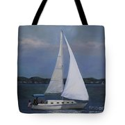 Lakeside Leisure Tote Bag