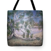Lakeside Limbs Tote Bag