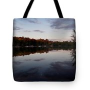 Lakeside Moon Tote Bag