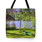 Lakeside Relaxation Tote Bag