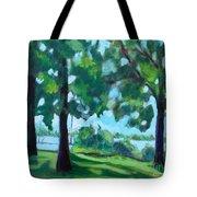Lakeside Shadows Tote Bag
