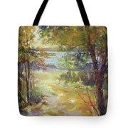Lakeside Sunglow Tote Bag