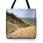 Laketown Dune Panorama Tote Bag