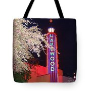 Lakewood Theater Tote Bag