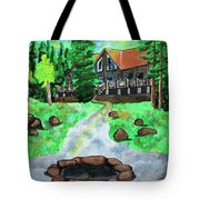 Lakewoods Lodge Tote Bag