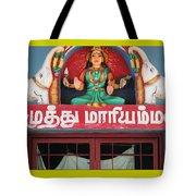 Lakshmi And Her Elephants, Valparai Tote Bag