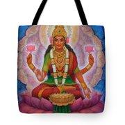 Lakshmi Blessing Tote Bag
