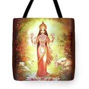 Lakshmi Goddess Of Fortune And Prosperity Tote Bag