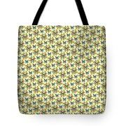 Lalabutterfly Lemons Reduced Scale Tote Bag