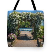 Lale Villarrica, Pucon, Chile Tote Bag