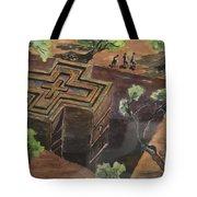 Lalibela Church Tote Bag