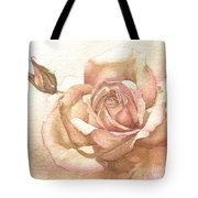 Lalique Rose Tote Bag