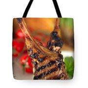 Lamb Chop Three Tote Bag