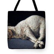 Lamb Of God. Agnus Dei Tote Bag