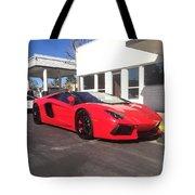Lamborghini Aventador Spyder Tote Bag