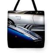 Lamborghini Countach And Lamborghini Diablo Tote Bag