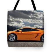 Lamborghini Exotic Car Tote Bag