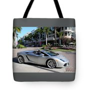 Lamborghini Gallardo Lp560 Tote Bag