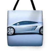 Lamborghini Gallardo 'profile Of Terror' Tote Bag