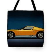 Lamborghini Miura 1966 Painting Tote Bag