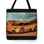 Lamborghini Reventon 2007 Painting Tote Bag